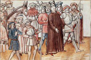Jan Hus erhält letzte Stadtführung durch Konstanz