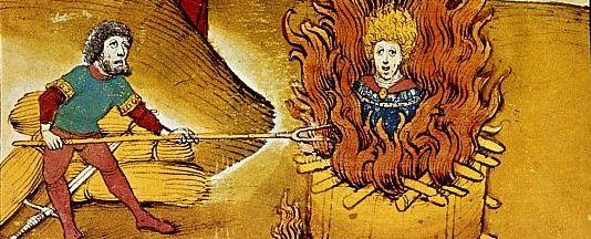 Die Verbrennung des Jan Hus